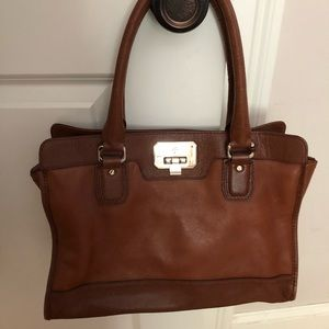 Cole Haan Women's Leather Shoulder Bag with Straps